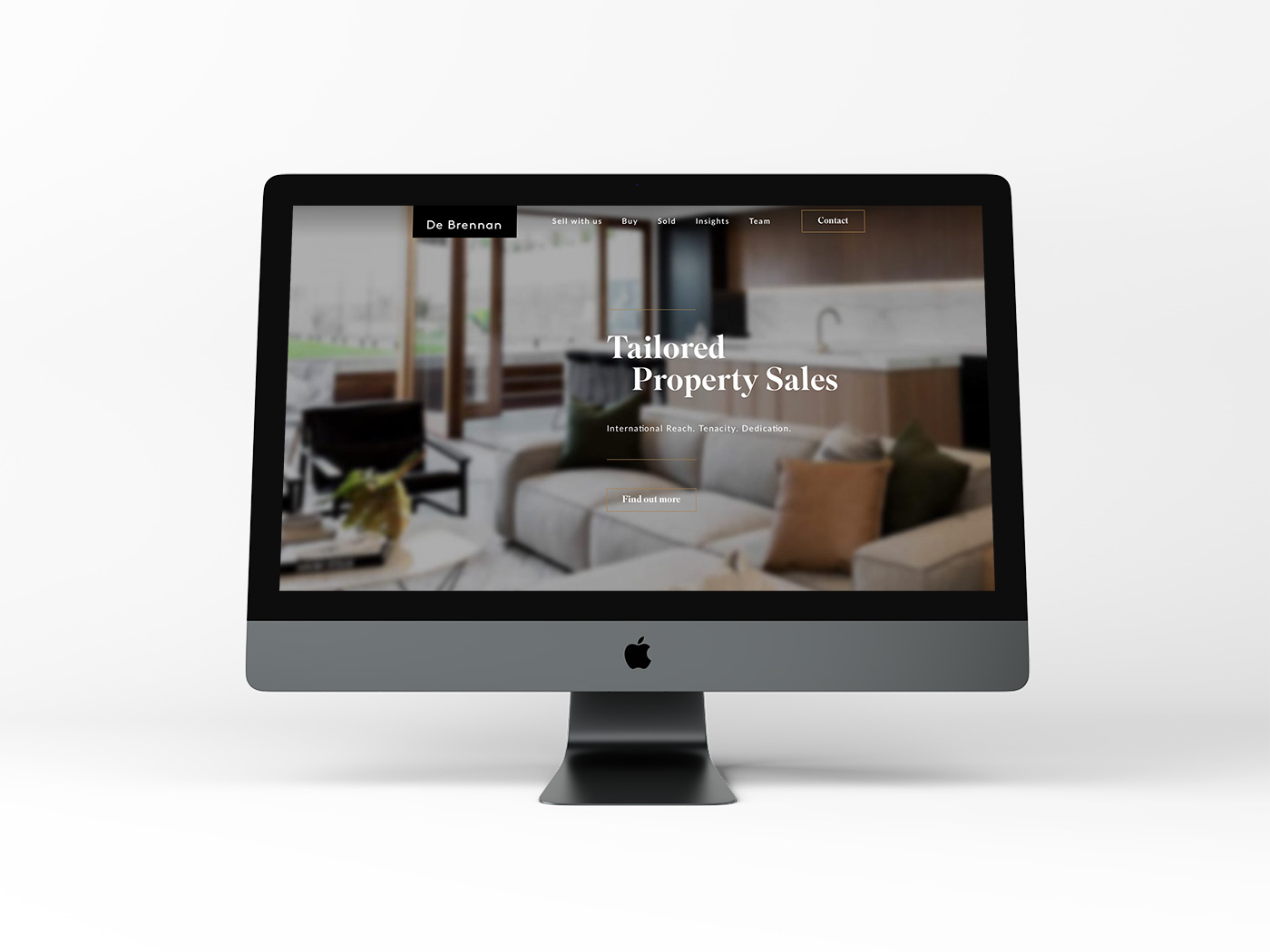 De Brennan Property Website Design