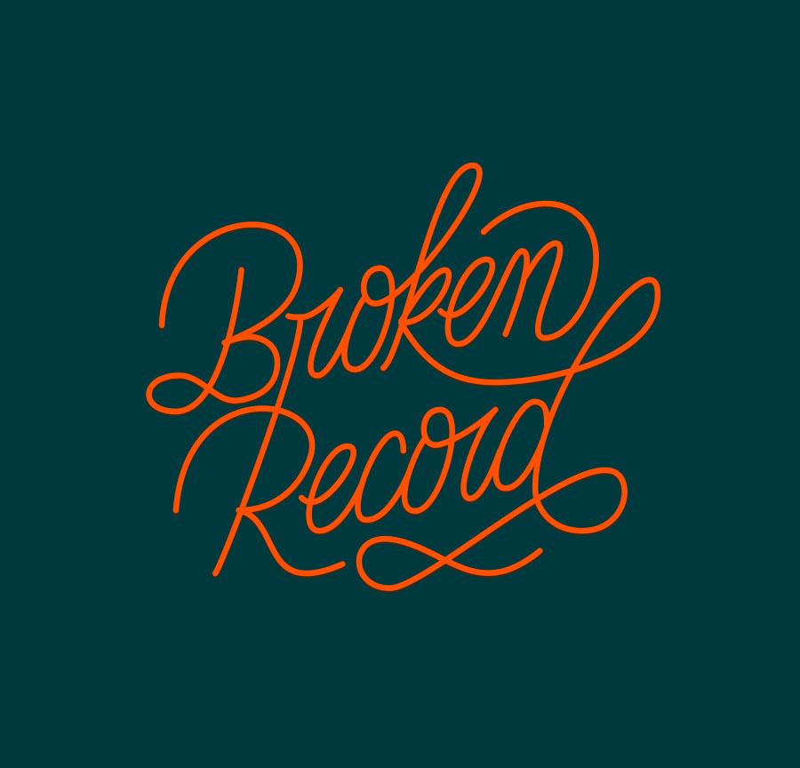 Broken Record wordmark