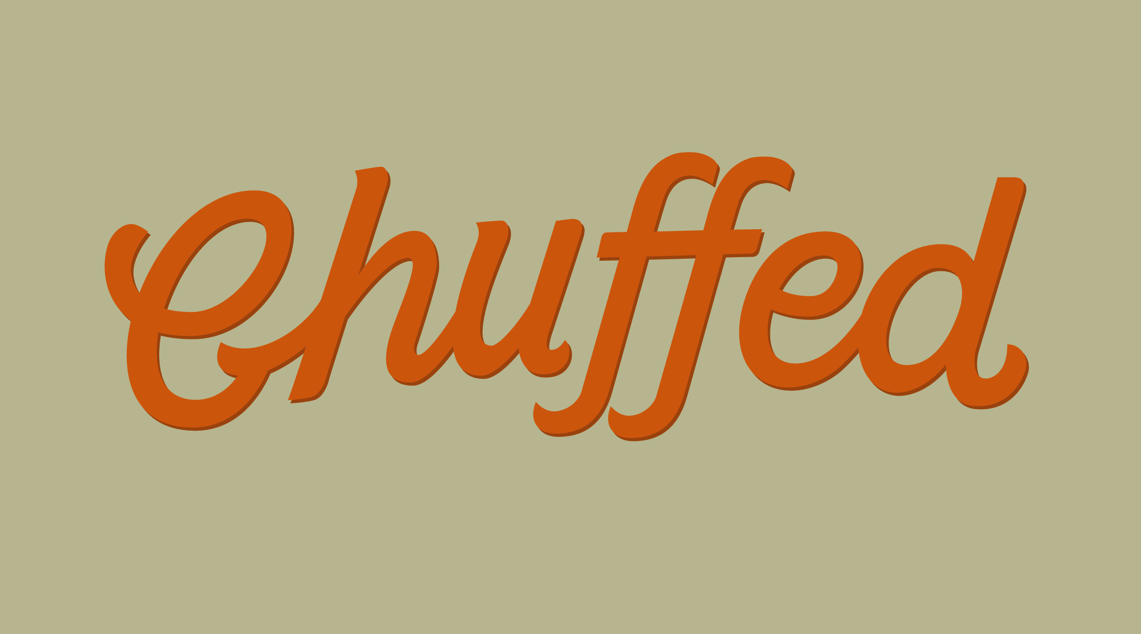Chuffed wordmark